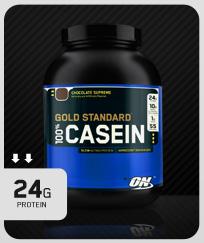 Gold Standard 100% Casein Creamy Vanilla 908g