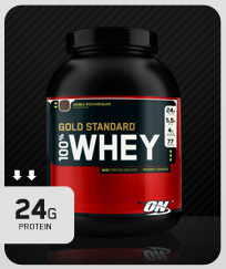 Gold Standard 100% Whey - Strawberry 908g