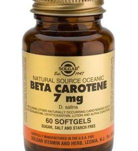 Oceanic Beta Carotene 60 Softgels 25,000 IU