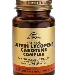 Lutein Lycopene Carotene Complex Vegetable 30 Capsules
