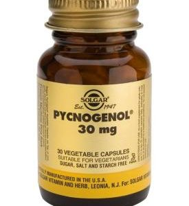 Pycnogenol 30 mg Vegetable 60 Capsules