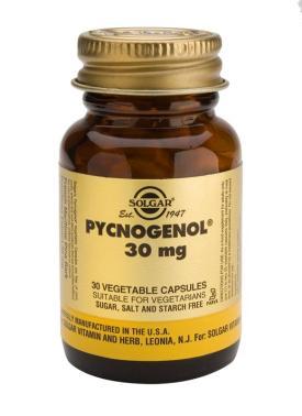 Pycnogenol 30 mg Vegetable 30 Capsules
