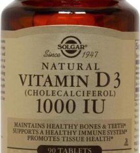 Vitamin D3 (Cholecalciferol) 1000 IU 90 Tablets