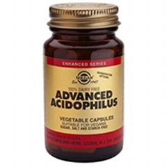 Advanced Acidophilus: 100 Vegicaps