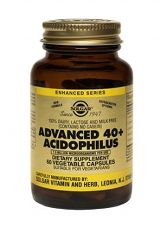 Advanced 40+ Acidophilus: 60 Vegi caps