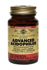 Advanced Acidophilus: 50 Vegicaps