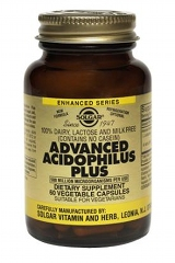 Advanced Acidophilus Plus: 60 Vegi caps