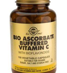 Bio-Ascorbate (Buffered Vitamin C Complex) Vegetable 100 Capsules