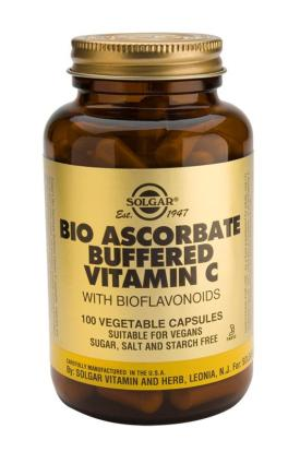 Bio-Ascorbate (Buffered Vitamin C Complex) Vegetable 100 Capsules
