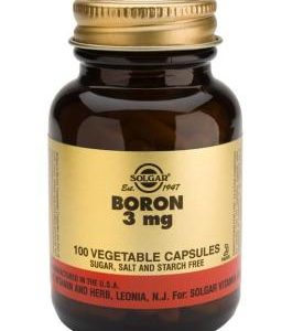 Boron 3mg Vegetable 100 Capsules