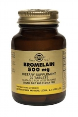 Bromelain 500mg : 30 Tablets