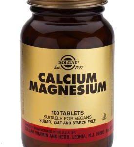 Calcium Magnesium 100 Tablets