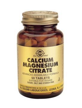 Calcium Magnesium Citrate 50 Tablets