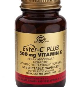 Ester-C Plus 500 mg Vitamin C Vegetable 50 Capsules