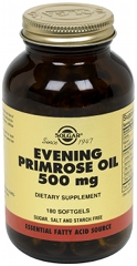 Evening Primrose Oil 500mg - 180 Softgel capsules