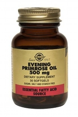 Evening Primrose Oil 500mg - 30 Softgel capsules