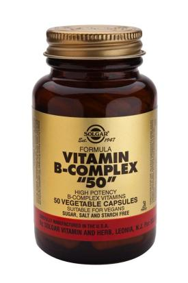 "Formula Vitamin B-Complex ""50"" Vegetable 100 Capsules"