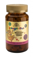 Kangavites - Bouncing Berry flavour - 120 Chewable Tablets