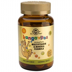 Kangavites - Tropical Punch - 120 Chewable Tablets