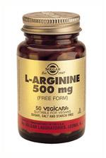 L-Arginine 500 mg 50 Veg Caps