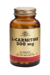 L-Carnitine 500mg - 60 Tablets