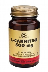 L-Carnitine 500mg - 30 Tablets