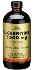 L-Carnitine 1500mg Liquid - 473ml