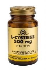 L-Cysteine 500mg 30 Vegicaps