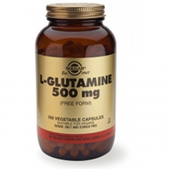 L-Glutamine 500mg - 250 Veg Caps