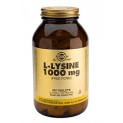L-Lysine 1000mg - 250 Capsules