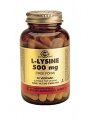 L-Lysine 500mg: 50 Capsules