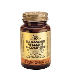 "Megasorb Vitamin B-Complex ""50"" 250 Tablets"
