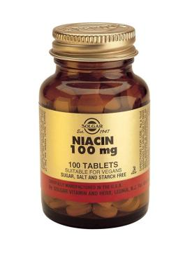 Niacin 100 mg 100 Tablets (Vitamin B3)