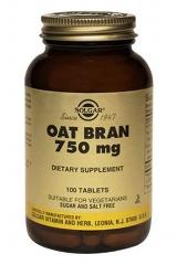 Oat Bran 750mg: 100 Tablets