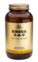 Omega 3-6-9 Softgels 120 caps