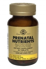 Prenatal Nutrients: 60 Tablets