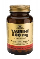 Taurine 500mg - 50 Vegicaps