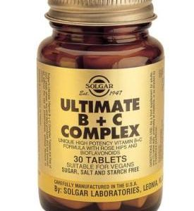 Ultimate B+C Complex 60 Tablets