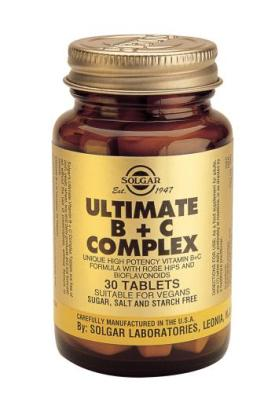 Ultimate B+C Complex 30 Tablets