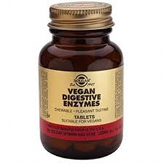 Vegan Digestive Enzymes (Chewable): 250 Tablets