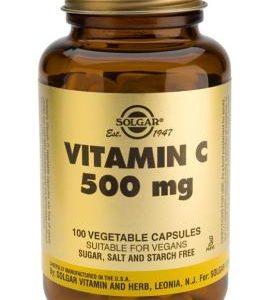 Vitamin C 500 mg Vegetable 100 Capsules