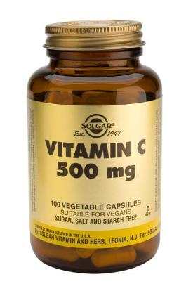 Vitamin C 500 mg Vegetable 100 Capsules