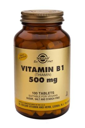 Vitamin B1 500 mg 100 Tablets (Thiamin)