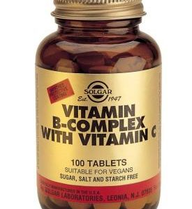 Vitamin B-Complex with Vitamin C 100 Tablets