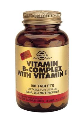Vitamin B-Complex with Vitamin C 100 Tablets