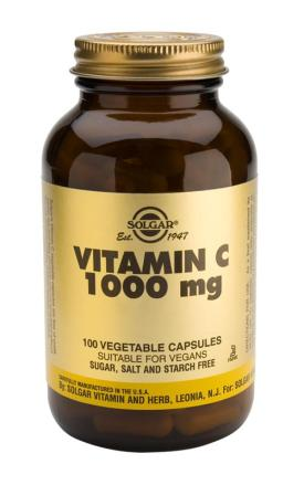 Vitamin C 1000 mg Vegetable 100 Capsules