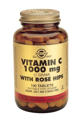 Vitamin C 1000 mg with Rose Hips Tablets