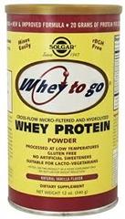 Whey To Go Protein Powder (Vanilla): 12 oz