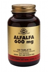 Alfalfa 600 mg Tablets
