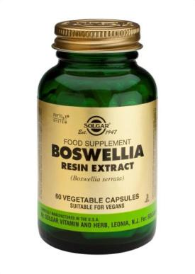 Boswellia Resin Extract Vegetable Capsules 60